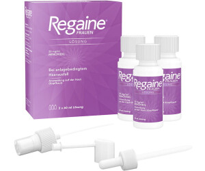 Regaine Frauen Lösung (3 x 60 ml) ab 38,99 € (Juni 2020
