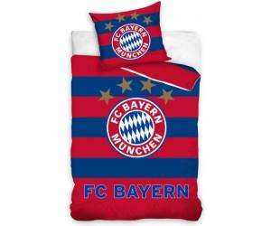 FC Bayern M/ünchen Bettw/äsche Streifen 135x200 cm