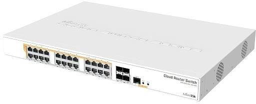 Image of MikroTik 24-Port Gigabit PoE Switch (CRS328-24P-4S+RM)