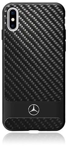 Image of Mercedes-Benz Dynamic Line Carbon Case (iPhone X) Black