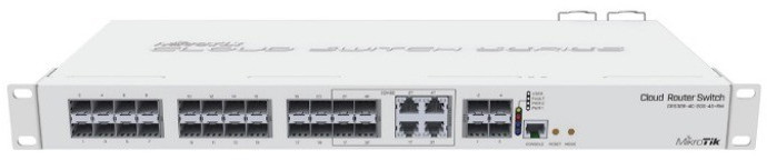 Image of MikroTik 28-Port Gigabit Switch (CRS328-4C-20S-4S+RM)