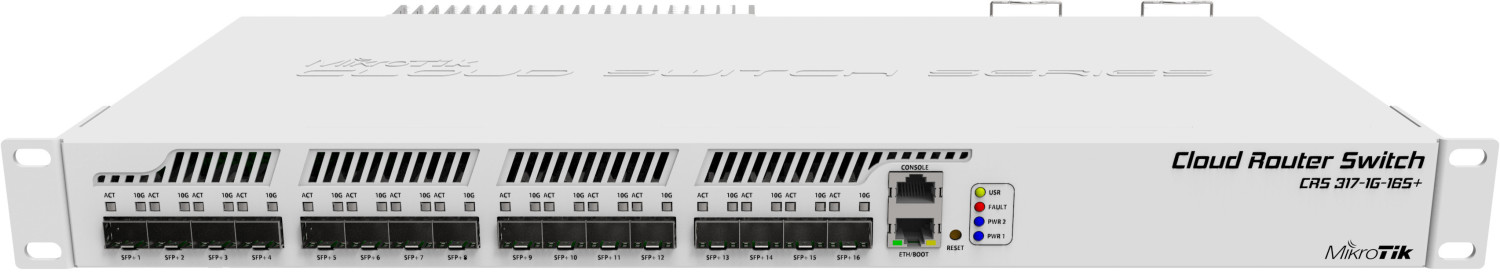 Image of MikroTik 16-Port Switch (CRS317-1G-16S+RM)