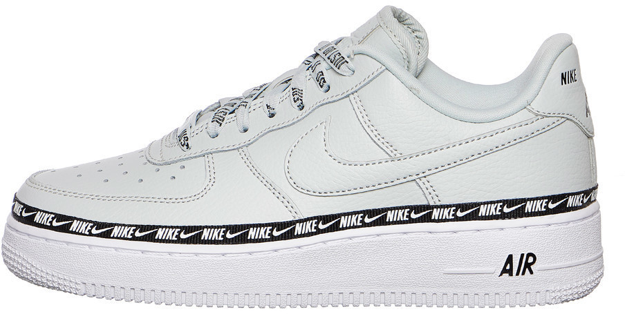 5e582d5918e Nike Air Force 1 07 SE Premium Overbranded Women light silver light  silver black white