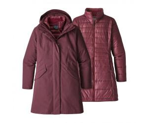 Patagonia Vosque 3 in 1 Outdoorjacke für Damen Rot