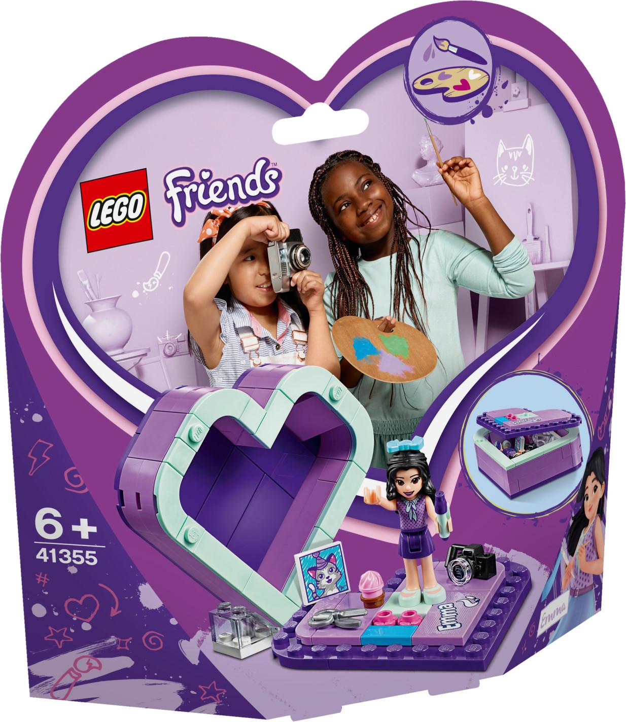 LEGO Friends - La boîte cœur d'Emma (41355)