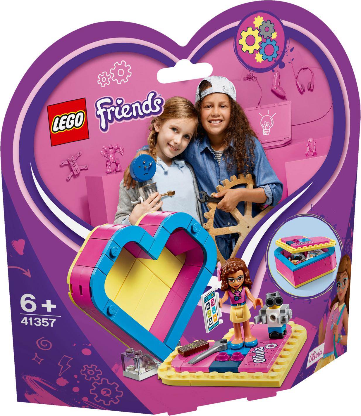 LEGO Friends - La boîte cœur d'Olivia (41357)