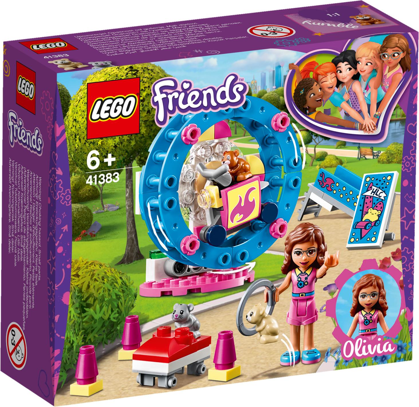 LEGO Friends - L'aire de jeu du hamster d'Olivia (41383)