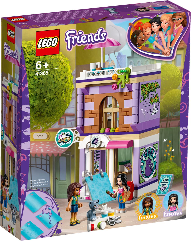 LEGO Friends - L'atelier d'artiste d'Emma (41365)