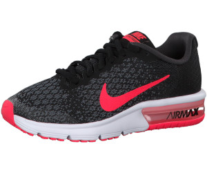Nike Air Max Sequent 2 GS (869994) blackracer pink
