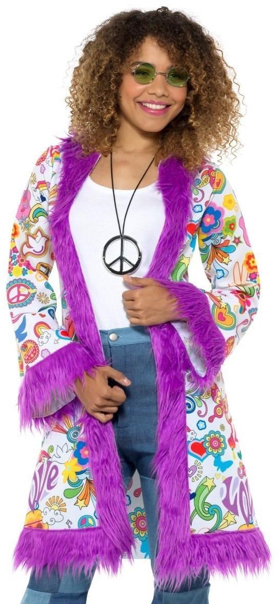 Smiffy's 60er-Jahre Groovy-Hippie-Mantel