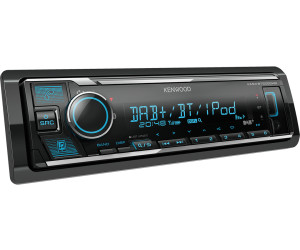 KENWOOD KMM-BT505DAB Auto Radio DAB Bluetooth USB AUX inkl Antenne ...
