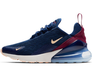 nice shoes wholesale dealer recognized brands Nike Air Max 270 Women blue void/true berry/platinum tint ...