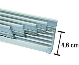 Gardinia Flächenvorhangschiene Komfort 5 Läufig 280cm Ab 53
