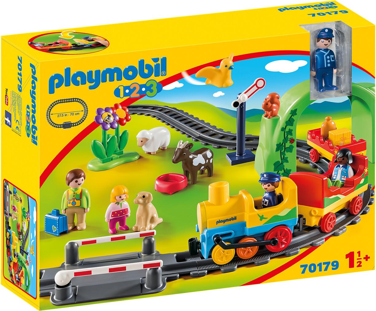 Playmobil 1.2.3 - Meine erste Eisenbahn (70179)