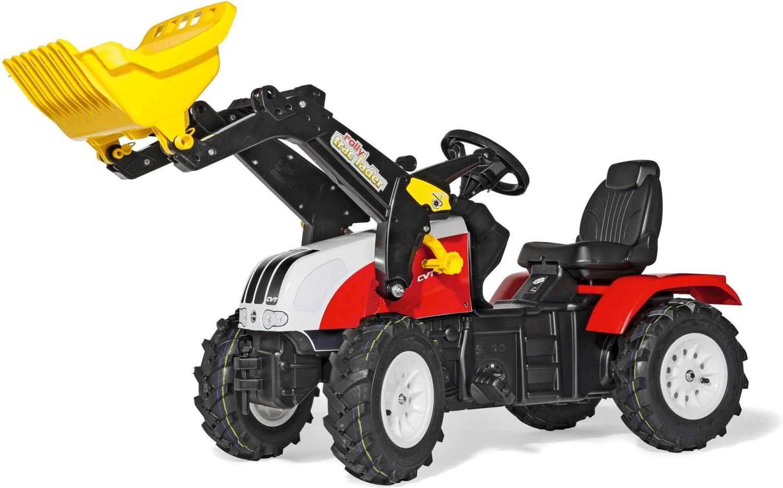 Image of Rolly Toys Farmtrac Steyr CVT 170 con ruspa e ruote gonfiabili
