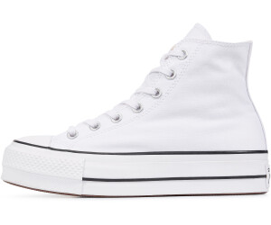 converse all star alte leather nere