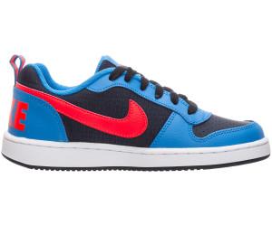 detailed look 1de5a d54e5 Nike Court Borough Low GS (839985) obsidian bright crimson photo blue white