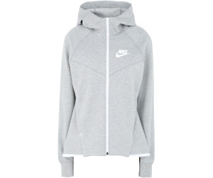 Nike Essential Fleece Kapuzenjacke Damen Grau F063