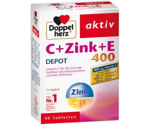 Doppelherz Aktiv Vitamin C 400 Zink E Depot Tabletten 40 Stk