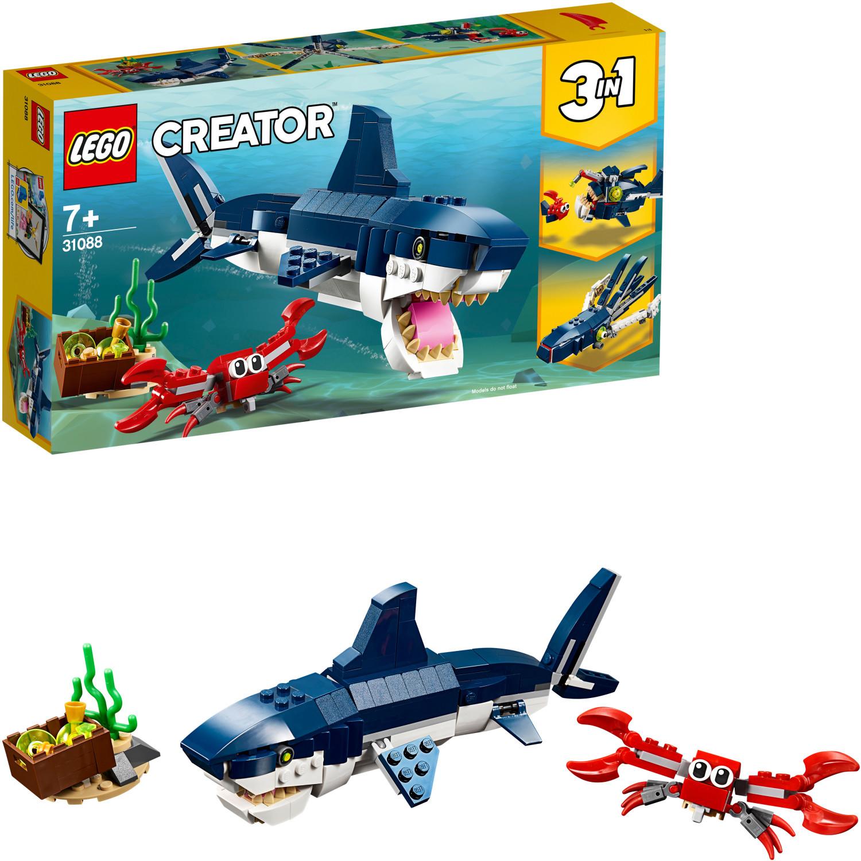 Amazon Prime - LEGO Creator 31088 - Bewohner der Tiefsee für nur 9,97€
