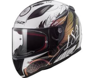 XS Hombre LS2 NC Casco per Moto Negro//Amarillo