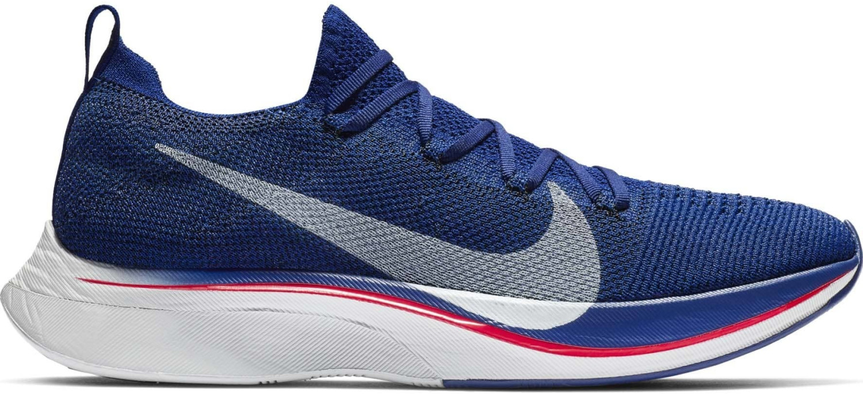 Image of Nike Zoom Vaporfly 4% Flyknit (AJ3857) deep royal blue/red orbit/black/ghost aqua