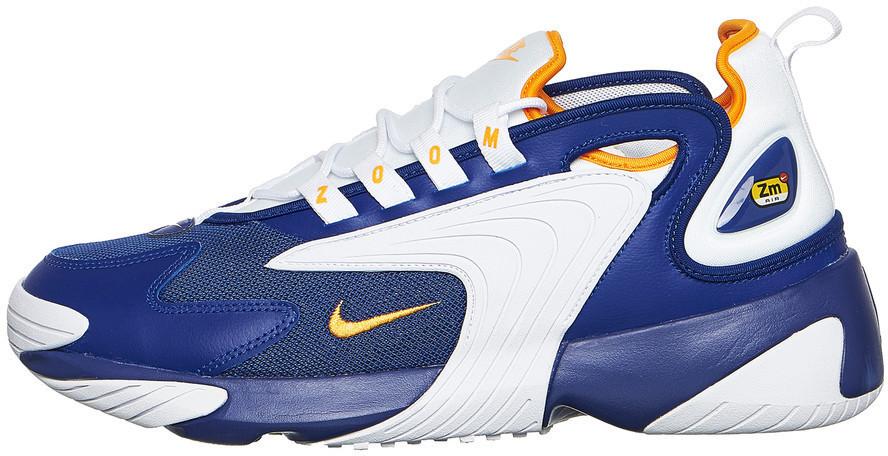 size 40 3fcd7 55bac Nike Zoom 2K Deeep Royal Blue White Orange Peel