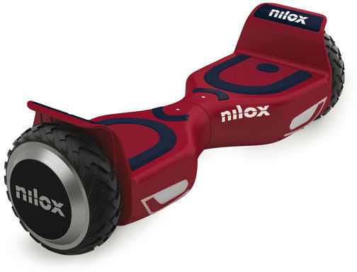 Image of Nilox DOC 2 Hoverboard Plus rosso/blu