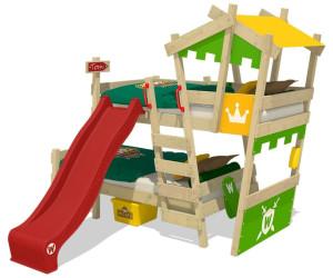Etagenbett Wickey Crazy Trunky : Wickey crazy castle mit lattenboden und dach cm ab
