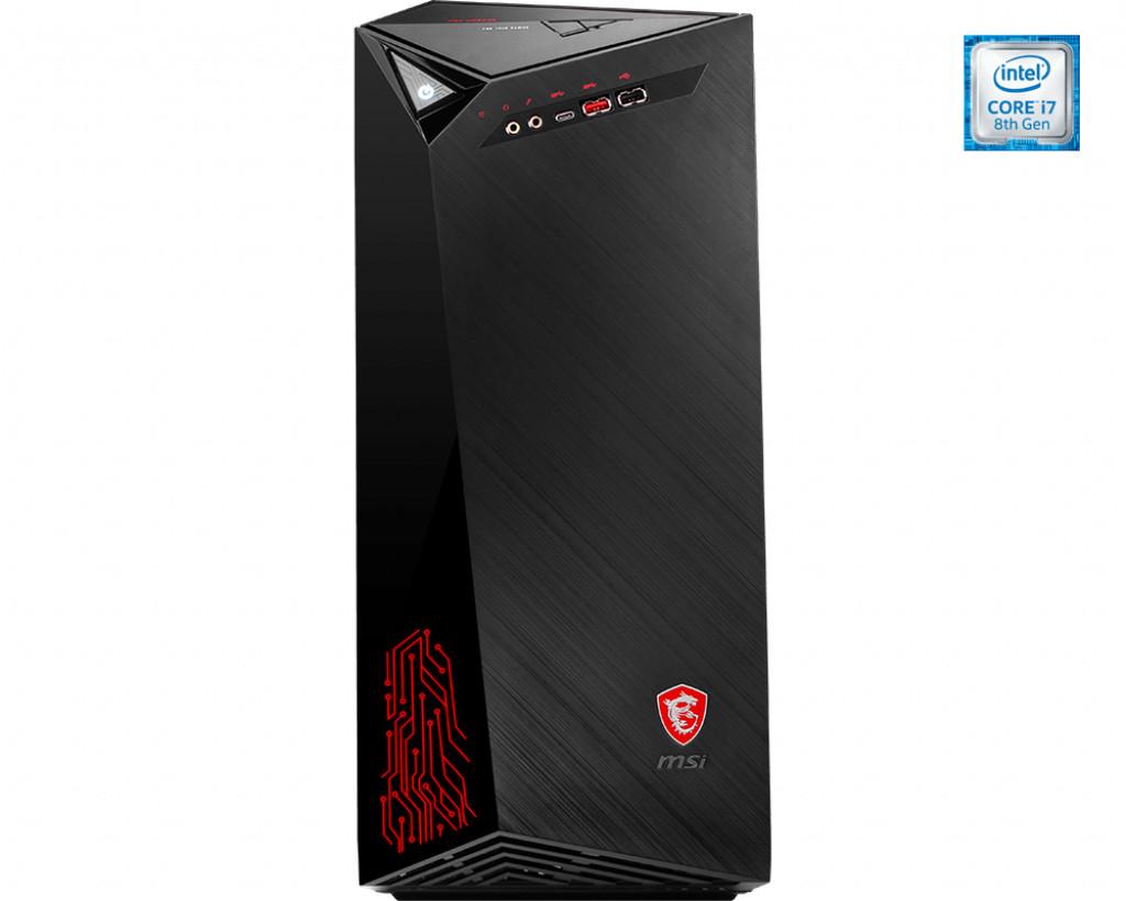 PC De Mesa MSI 9S6-B91541-090 i7-8700 16 GB RAM 256 GB SSD + 1 TB Negro