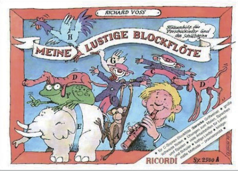 Image of Editions Ricordi Meine Lustige Blockflöte Band 1 (barocke Griffweise)