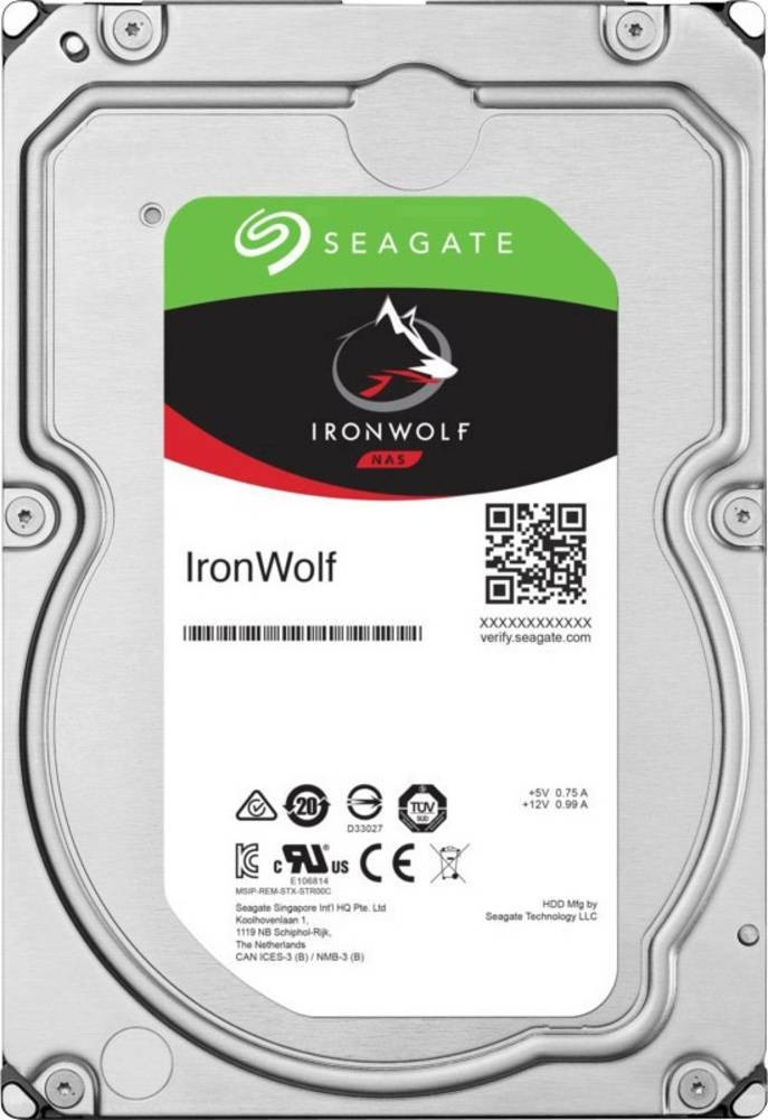 Seagate IronWolf NAS De 12 TB, 12 TB
