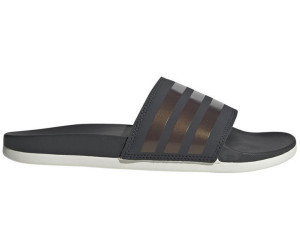 b471919a785866 Adidas Adilette Comfort Slipper grey six copper metallic raw white ...