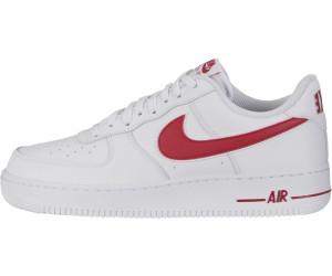 Avis : Nike Air Force 1 '07 3 Low 'White Gym Red' (homme) en