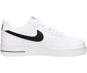 Nike Air Force 1 '07 3, Baskets Homme, Blanc (WhiteBlack
