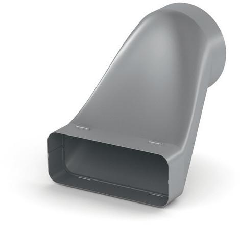 #Naber SF-VEST 150 Versatzendstück / verzinkter Stahl / 150er Flachkanal (4061028)#