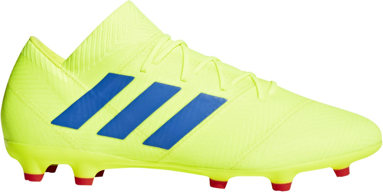 Adidas NEMEZIZ 18.2 FG (BB9431) solar yellow, blue
