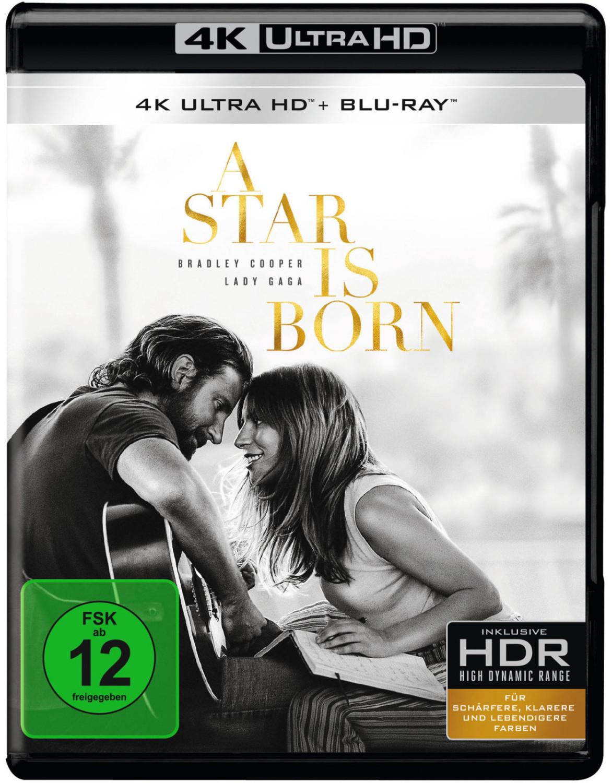 *A Star is born (2018, Lady Gaga, Bradley Cooper) (4K Ultra HD) [Blu-ray]*