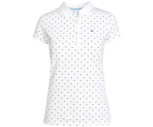 competitive price 6b64d 2dcf3 Tommy Hilfiger Slim Fit Poloshirt mit Aufdruck (1M87650126 ...