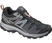 salomon x radiant gtx women's mid hiking shoes ebony y bluestone