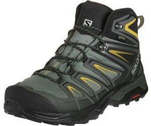 Salomon X Ultra 3 Wide Mid GTX castor grayblackgreen