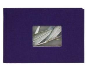 Bella Vista Minialbum grün für 12 Fotos 13x18 cm