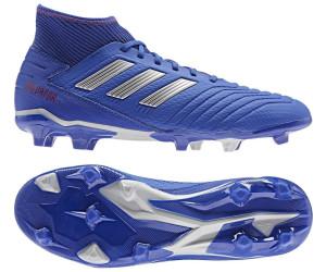 best designer fashion new lifestyle Adidas Predator 19.3 FG bold blue/silver metallic/active red ...