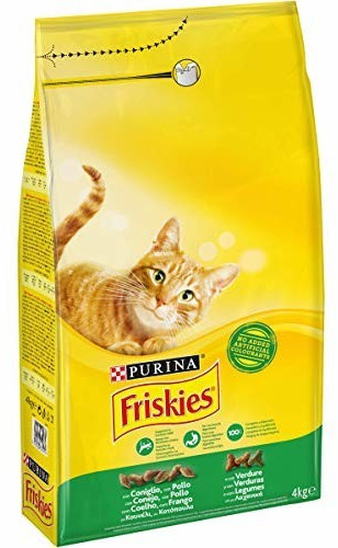 Image of Friskies Adult with rabbit, chicken and vegetables (4 kg)