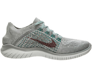 Nike Free RN Flyknit 2018 Women Mica Green/Light Silver/Night Factor ...