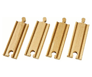Image of Brio 1/2 Straight Tracks (33334)