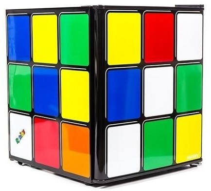 Image of Husky Rubik's Cube 43 L Mini Fridge