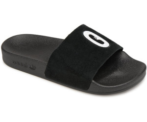 3c1330de4 Buy Adidas Adilette Slipper W Leather core black core black ftwr ...
