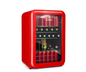 Klarstein Mini Retro Bar Kühlschrank rot