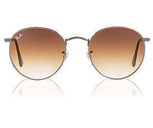 876780505be Buy Ray-Ban Round Flat Lenses RB3447N 004 51 from £84.79 – Compare ...